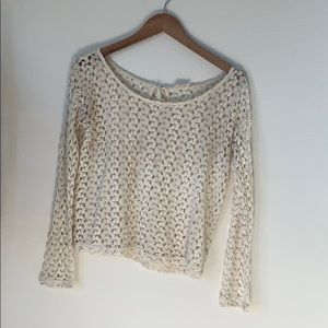 Tops - Ivory Lace Top